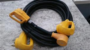 Camco Power Grip 230160 25 Rv Power Cord With 110v Dogbone Very Good Axel S Pawnshop Spokane Wa